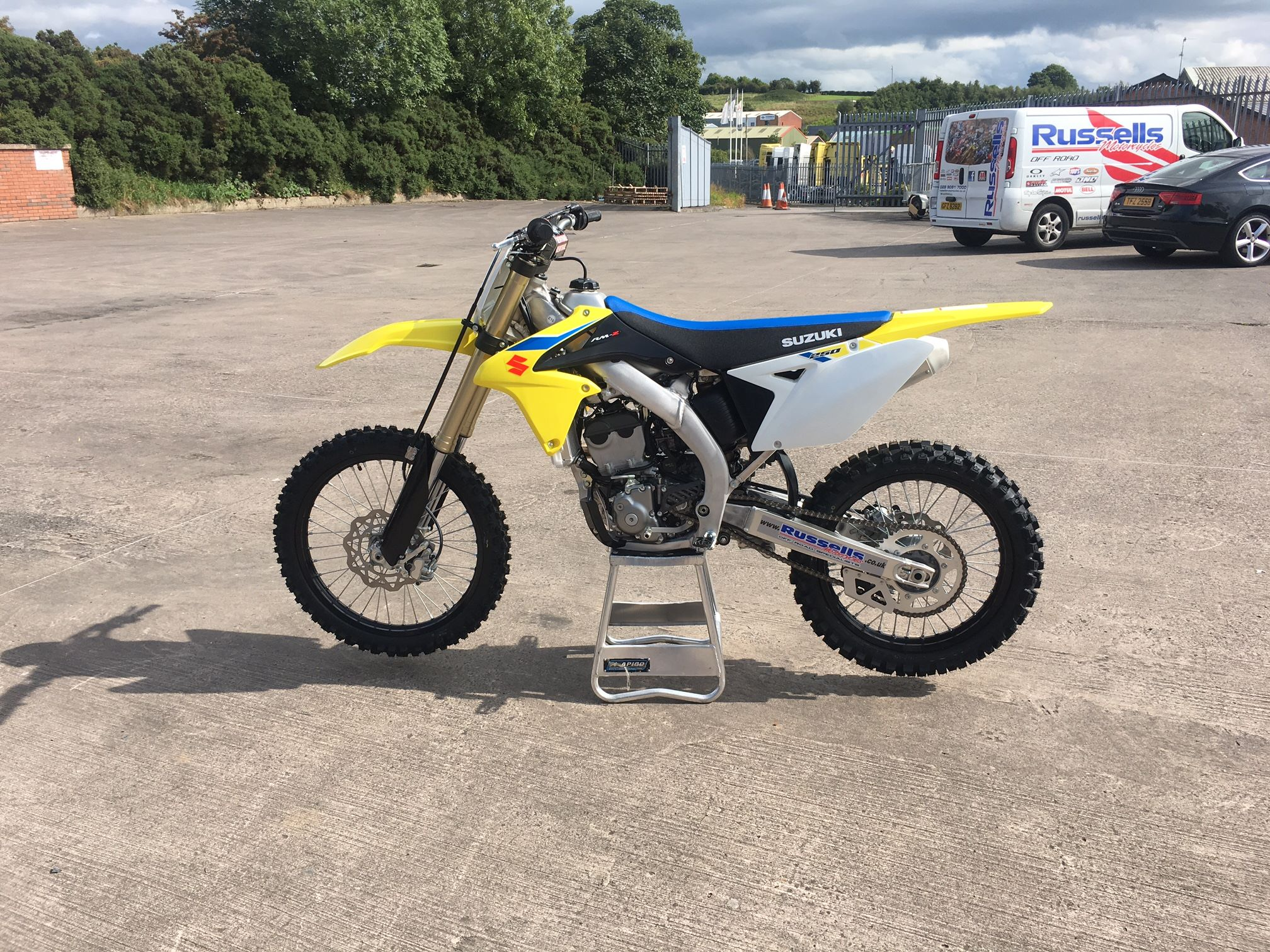 2018 suzuki 250f. wonderful 250f 2018 suzuki rmz 250 and suzuki 250f