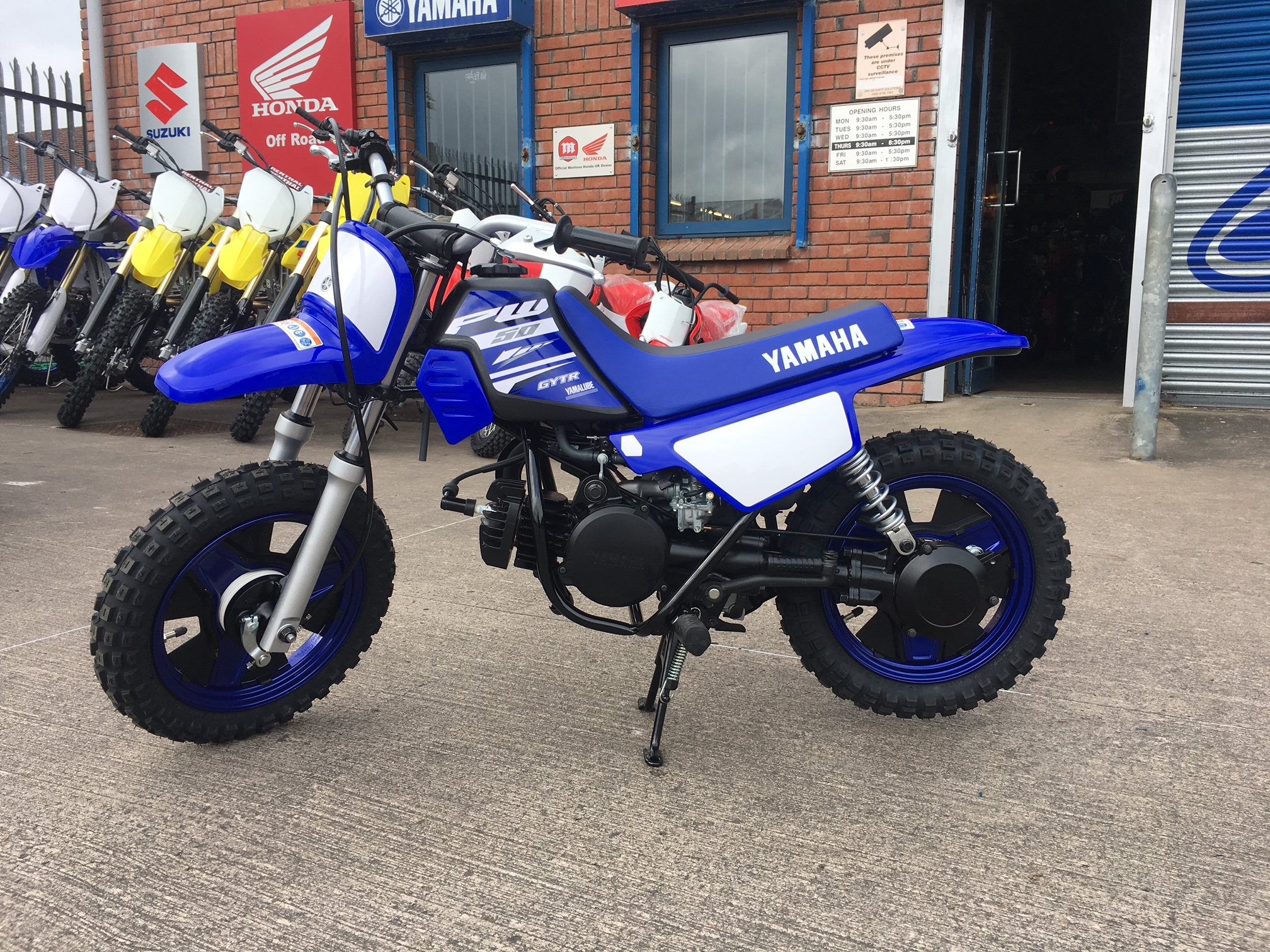2018 yamaha pw50 russells motorcycles for 2017 yamaha pw50